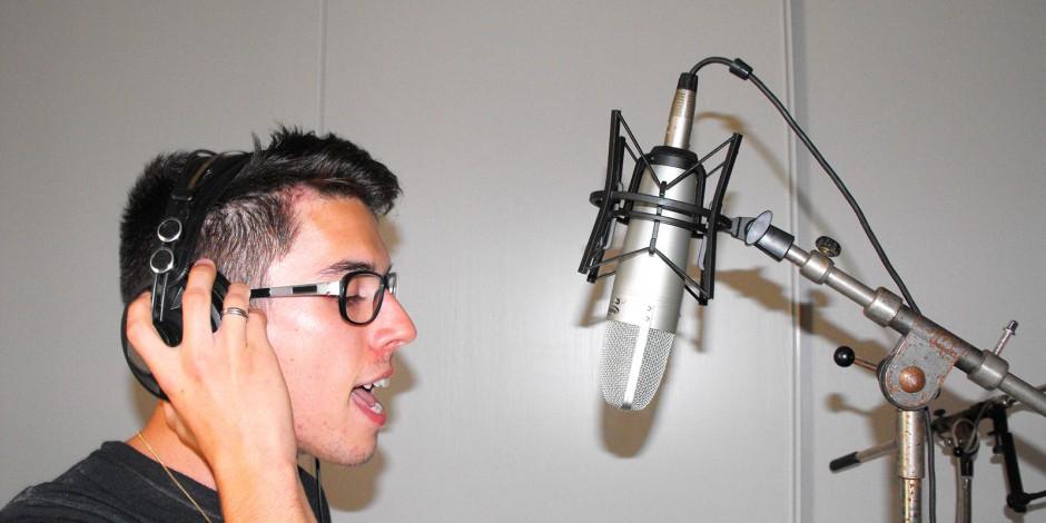 Séance de voix lead avec Jordi