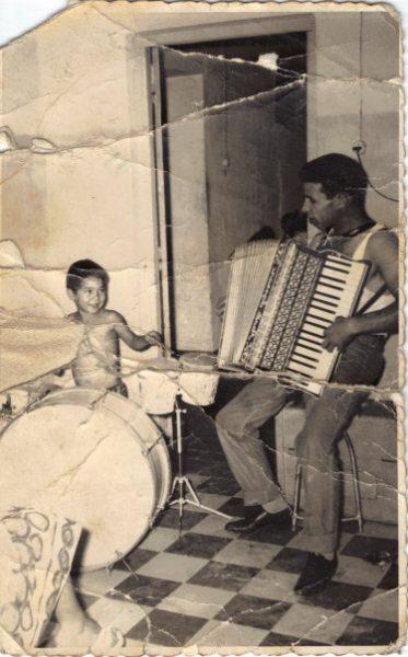 Mon père et moi en Août 1959